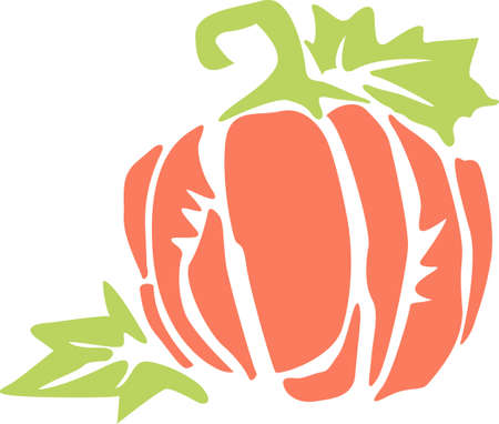 thanksgiving feast: Pumpkins are perfect fall decorations.  Give these unique gifts at your Thanksgiving feast.  They will love them! Illustration