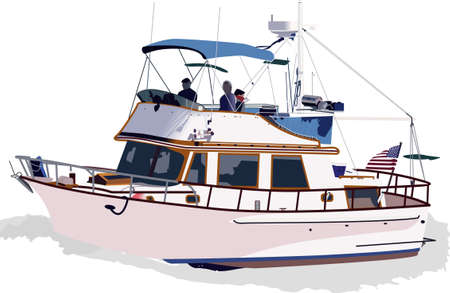 fishing vessel: Its always smooth sailing on the love boat!  Take this on your next cruise or as a gift to someone leaving on a cruise.  They will love it!