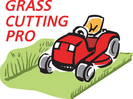 lawn mowing: Its the perfect advertisement for your lawn mowing business.