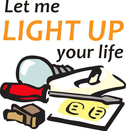 Its the perfect advertisement for your electrical business.
