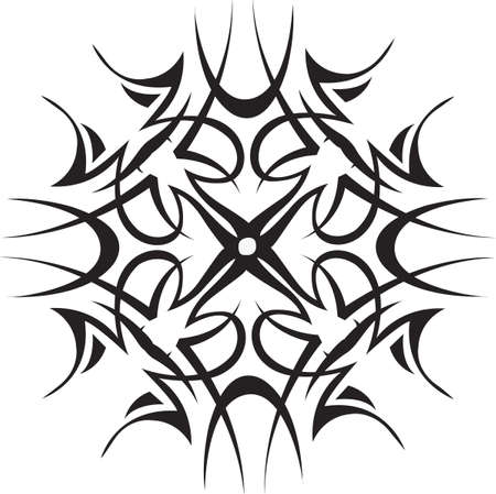 wintertime: This beautiful snowflake is a perfect design for this winter.