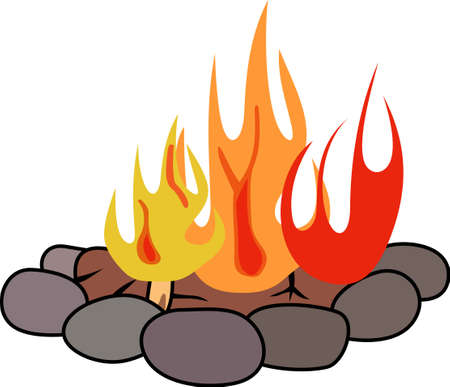 fire pit: Get out there and enjoy family time in the great outdoors.
