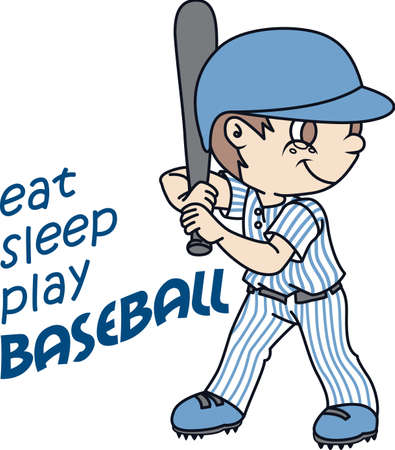 baseball field: You spend hours dreaming, practicing the sport and playing on the baseball field.  Baseball is life!  Your baseball player will love this!