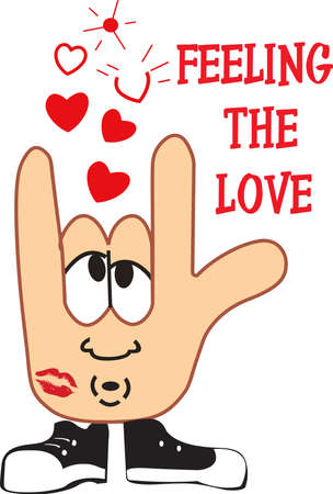 sign language: Send a reminder to the one you love how special they are to you.  They will love remembering your hugs, kisses and love!