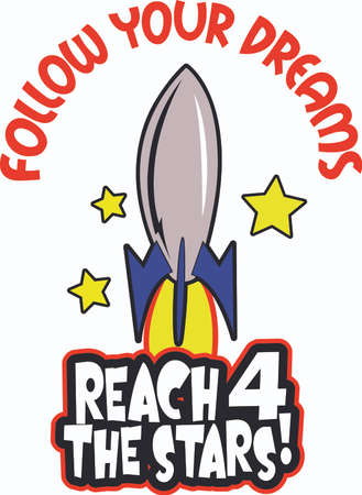 Help your students reach for the stars with this design