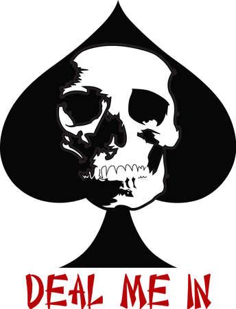 cranium: The skull is perfect for Halloween.  Illustration