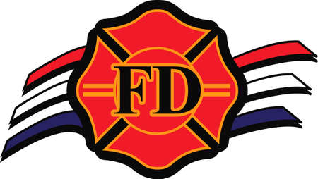 firefighters maltese cross: Show support for our firemen