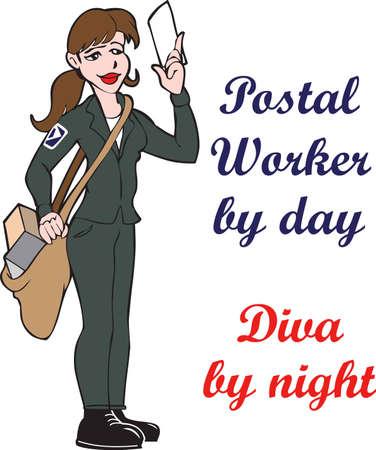 Laat uw postbode weten hoeveel u hun werk waarderen.