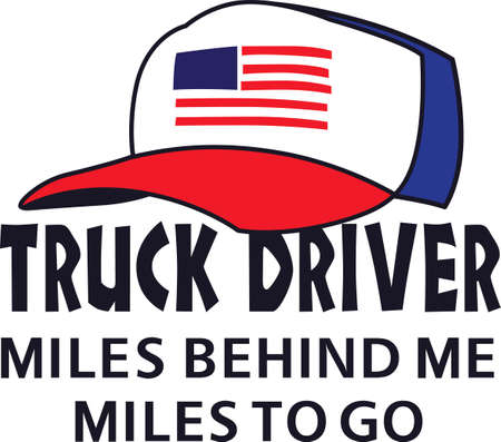 truck driver: The perfect gift for a truck driver.
