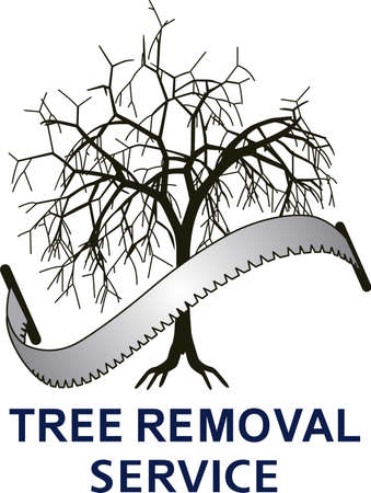 tree service: The perfect gift for a tree service company. Illustration