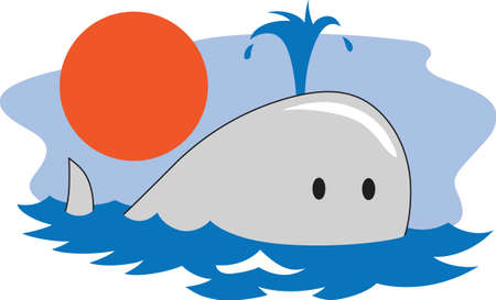 baleen whale: This adorable little whale is perfect for your classroom.  Include this W for whale when decorating.  The students will love it!