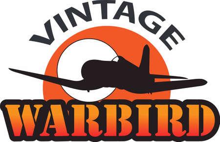 この画像は、エアショーでの飛行は、第二次世界大戦からプレーンを備えています。  イラスト・ベクター素材