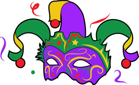 The king cake is am important part for your mardi gras celebration.  Use this design from Great Notions.