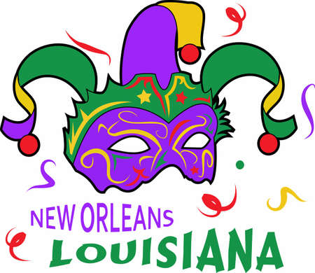 new orleans: The king cake is am important part for your mardi gras celebration.
