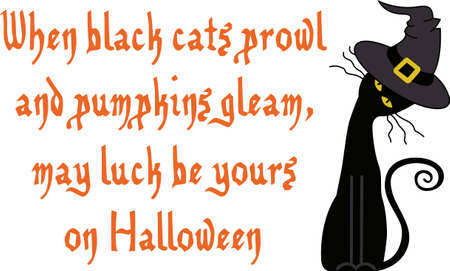 This Halloween spooky cat is a perfect treat.