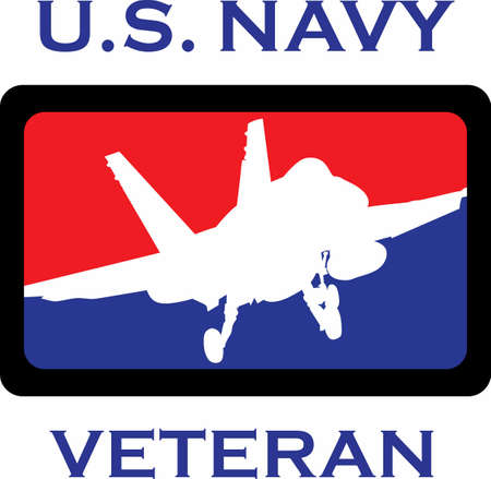 Let them know you are proud of your Navy hero.  Show support for our troops with this special design.