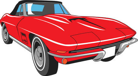 roadster: The car is an American classic.  Take this design to the next car show.  He will love it!