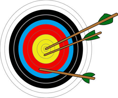 Archery is a fun sport and popular in high school.  This design is perfect for them and the instructor.