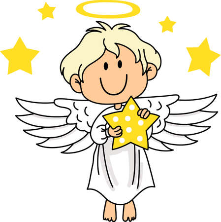 Every time a bell rings and angel gets their wings.  A beautiful design from Great Notions. Illustration