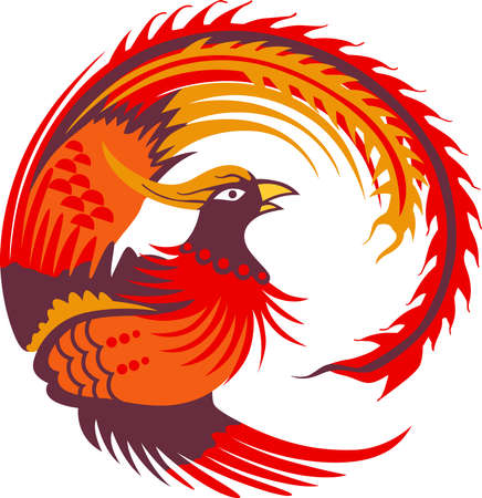 mythical phoenix bird: This return of the Phoenix makes a perfect gift for the hard to buy for teenager.  Get these magical designs from Great Notions.