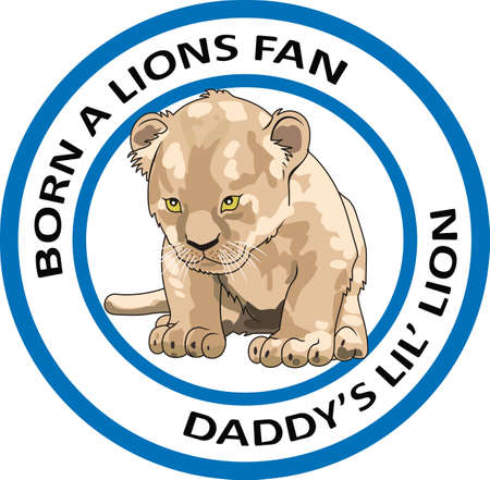 love is it: Show your team spirit with this Lion logo.  Everyone will love it.