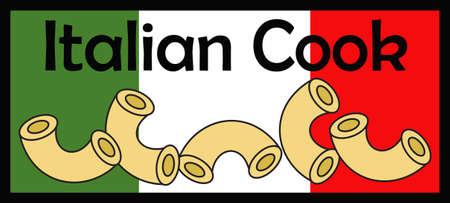 Italy is known for their pasta.  Display this Italian flag in your kitchen.