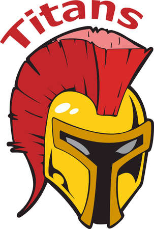 Show your team spirit with this Trojans logo.  Everyone will love it!