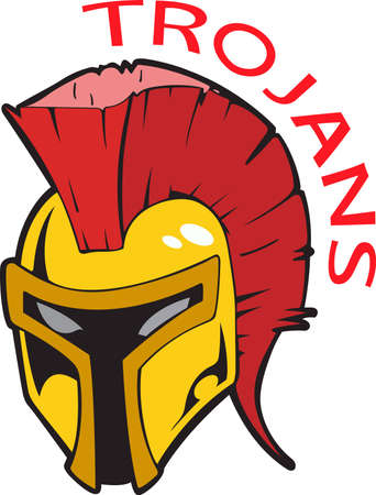 trojans: Show your team spirit with this Trojans logo.  Everyone will love it!