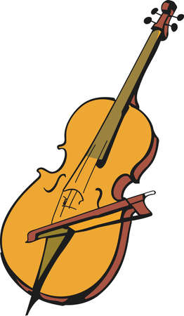 This cello design is perfect for your band student.  Another fun design from Great Notions.