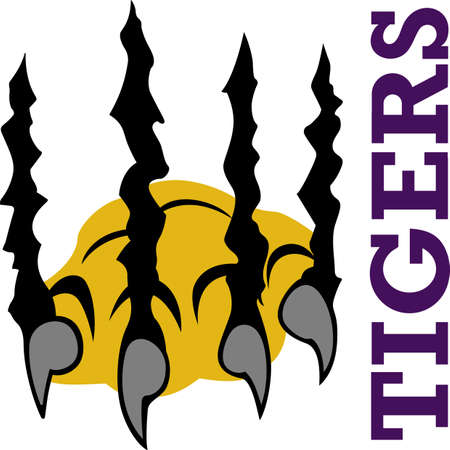 These scary claws are perfect for your Halloween party.  Grab this design from Great Notions.