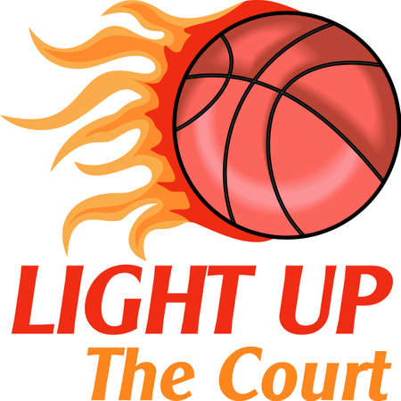 basketballs: Give this superstar to your child to see them light up with joy when they see this neat flaming design.