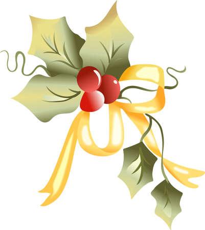 Sturen vakantie juicht met deze mooie hulst van Kerstmis. Pick die ontwerpen door Groot Begrippen! Stockfoto - 45169698