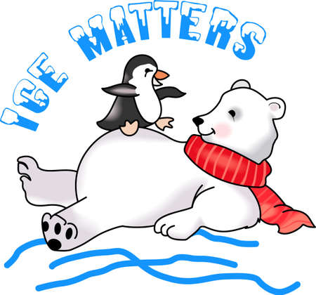 antarctic: Send some Christmas cheer with these cute bear and penguin.  Joy, peace and love!  These make a perfect house warming gift.  They will love it!