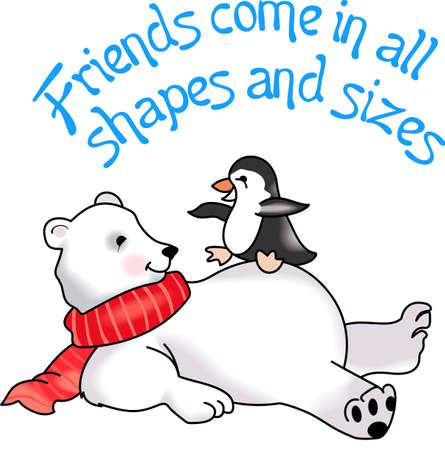 house warming: Send some Christmas cheer with these cute bear and penguin.  Joy, peace and love!  These make a perfect house warming gift.  They will love it!