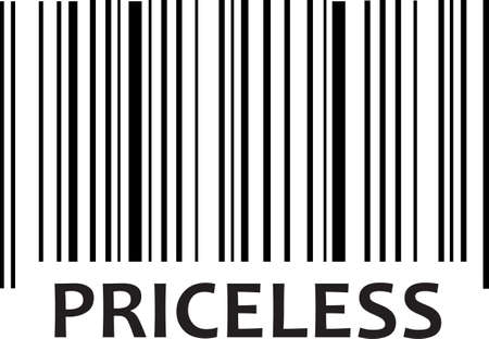 This bar code makes a fun design to add to a gift for a teenager.  Get these designs from Great Notions. Ilustração