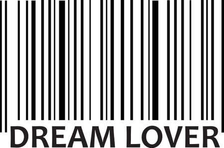 Deze streepjescode maakt een pretontwerp om een ??geschenk aan toe te voegen voor een tiener. Krijg deze ontwerpen uit Great Notions. Stockfoto - 45169836