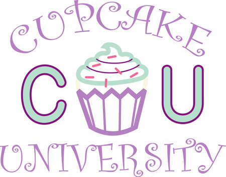 This cute little cupcake applique is perfect for a birthday party.