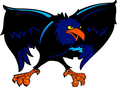 love is it: Show your team spirit with this Raven logo.  Everyone will love it!