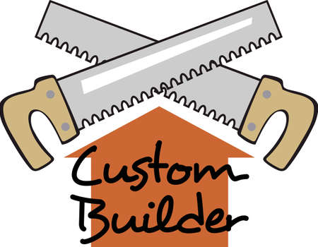 home builder: Woodworking is a wonderful talent and this design makes a perfect fathers day or grandfathers day gift. Illustration