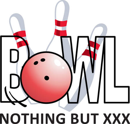notions: Get out there and bowl.  Use this design from Great Notions on your gear!