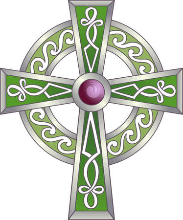 celt: The cross represents Christ because of his Crucifixion and Resurrection pick those designs by Great Notions.