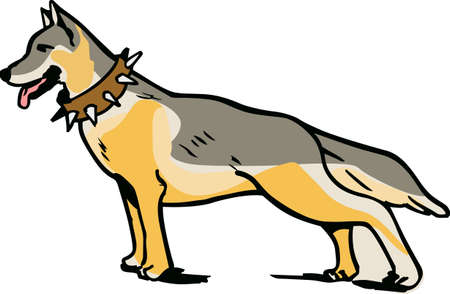 herding: I love my German Shepherd.  This is a perfect design for dog owners from Great Notions. Illustration