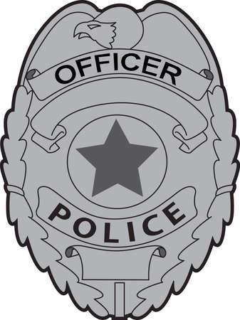 Si affidi la propria sicurezza per gli agenti di polizia ogni giorno. Questo disegno è perfetto per ringraziarli! Che vi piacerà! Archivio Fotografico - 45171624
