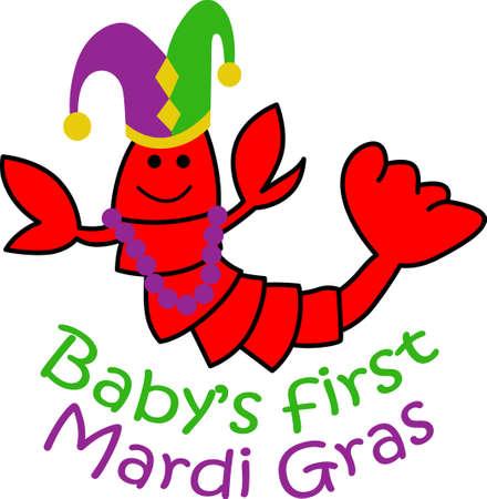 Prepárese para las partes del carnaval con este fantástico cangrejos. Coge estos diseños de grandes conceptos. Foto de archivo - 45171729