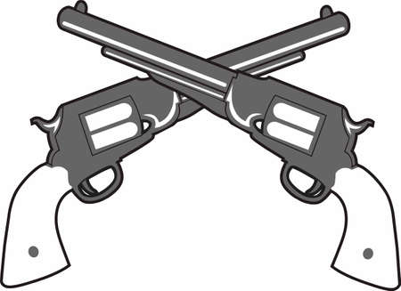 Fight crime and shoot back. Dont just accept it, do something about it. Ilustração