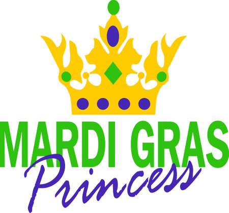mardigras: Get ready for the Mardi Gras parties with this fantastic crown.  Grab these designs from Great Notions. Illustration