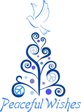 house warming: Send some Christmas cheer with these doves and hearts.  Joy, peace and love!  These make a perfect house warming gift.  They will love it!