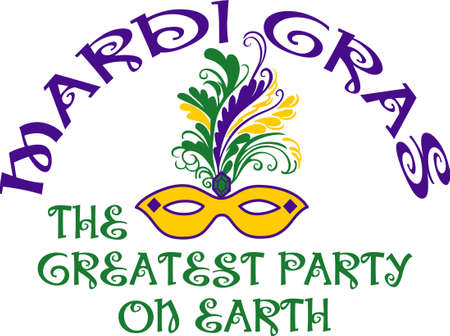 mardigras: Get ready for the Mardi Gras parties with this fantastic mask.  Grab these designs from Great Notions.