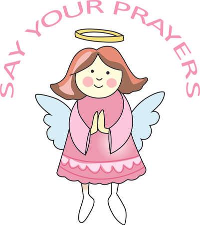 Chaque fois une cloche sonne et Angel obtient leurs ailes. Une belle conception de Great notions. Banque d'images - 45171979