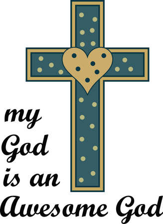 calvary: Include the special message with your Easter decorations for everyone to enjoy all year long.  They will love it!